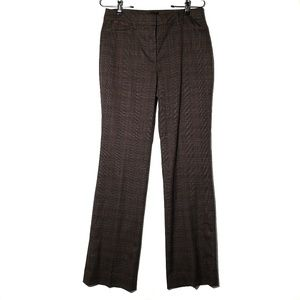 WHBM || The Boot Plaid Trousers
